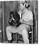 Jungle Jim, Johnny Weissmuller Canvas Print