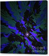Jungle Night Sky By Jammer Canvas Print