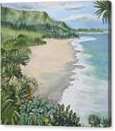 Jungle Waves Canvas Print