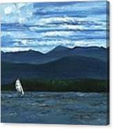 Juniper Island Lake Champlain Vt/ny Canvas Print