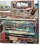 Junk Or Treasure Canvas Print