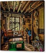 Junk Room Canvas Print