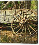 Junk Wagon Canvas Print