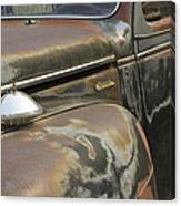 Junkyard Series Old Plymouth Canvas Print