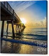 Juno Beach Sunrise Canvas Print
