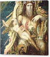 Jupiter And Semele  Canvas Print