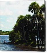 Jupiter Florida Shores Canvas Print