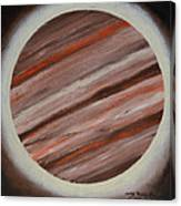 Jupiter Spectral Canvas Print