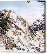 Jupiter Terrace Yellowstone Np Canvas Print