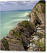Jurassic Coast From Lulworth Cove Canvas Print