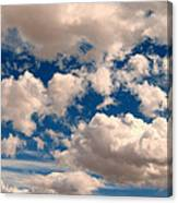 Just A Face In The Clouds Canvas Print