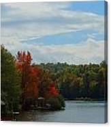 Just A Touch Of Fall Canvas Print