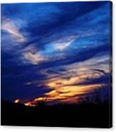 Just About Night Canvas Print