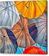 Just Ambrellas Canvas Print