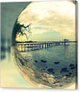 Just Another Pier II Canvas Print