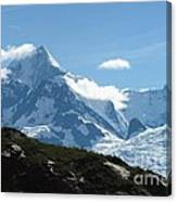 Just Another Snow-capped Mt Canvas Print