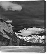 Just Before Banff Canvas Print