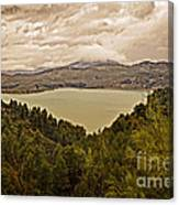 Just Before The Storm - Ardales Canvas Print