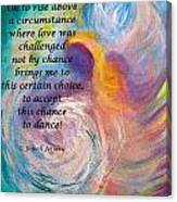 Just Dance Canvas Print