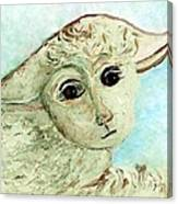 Just One Little Lamb Canvas Print