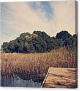 Just To Make This Dock My Home Canvas Print