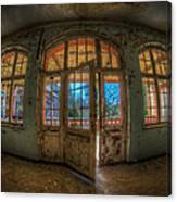Just Windows And A Door Canvas Print