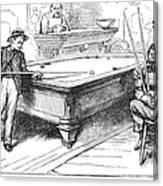 Juvenile Delinquency, 1881 Canvas Print
