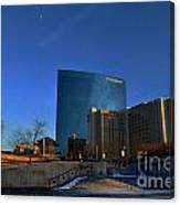 Jw Marriott On The Canal Indianapolis Canvas Print