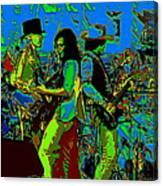 Jwinter #16 In Cosmicolors Canvas Print