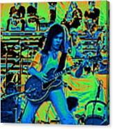 Jwinter #22 In Cosmicolors Canvas Print
