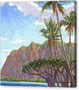 Kaaawa Beach - Oahu Canvas Print