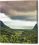 Kaaawa Valley Panorama Canvas Print