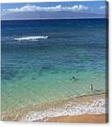 Kaanapali Ocean Aerial Canvas Print