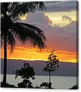 Kaanapali Sunset Canvas Print