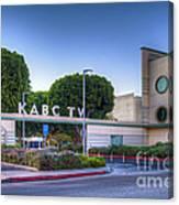 Kabc 7 Studio Burbank Glendale Ca Canvas Print