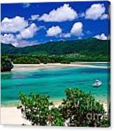 Kabira Bay Canvas Print