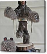 Kachina Doll Bear Head Removed Canvas Print