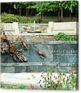 Kahlil Gibran Memorial Garden Canvas Print
