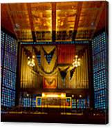 Kaiser Wilhelm Church Organ Canvas Print