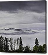 Kal Lake In The Mist Canvas Print