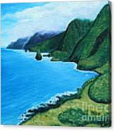 Kalaupapa Peninsula Canvas Print