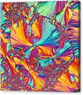 Kaleidoscope K Canvas Print