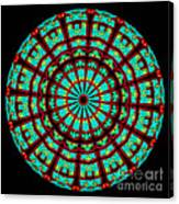 Kaleidoscope Of A Neon Sign Canvas Print