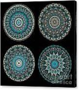 Kaleidoscope Steampunk Series Montage Canvas Print