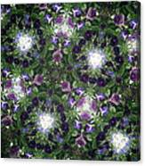 Kaleidoscope Violets 2 Canvas Print