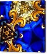 Kaleidoscopic Blues Fdl  Canvas Print