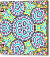 Kaleidoscopic Whimsy Canvas Print