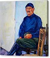 Kalispera Canvas Print