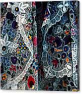 Kalocsa Folklore Canvas Print