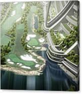 Kalpana One Golf Course Canvas Print